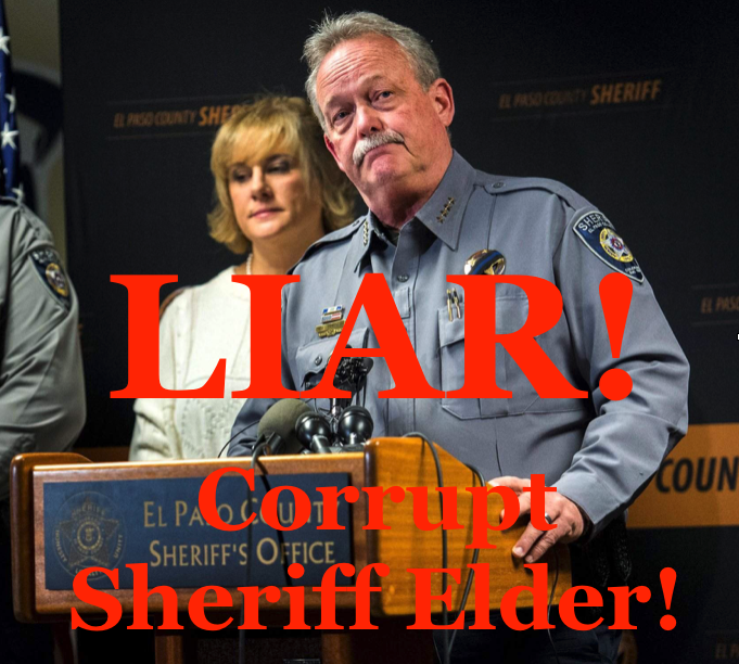 Corrupt Sheriff Bill Elder